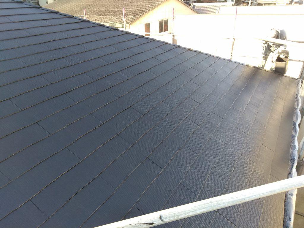屋根塗装工事!